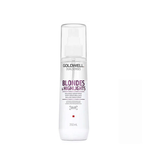 Goldwell Dualsenses blond & highlights Brilliance serum spray 150ml - spray illuminante antigiallo