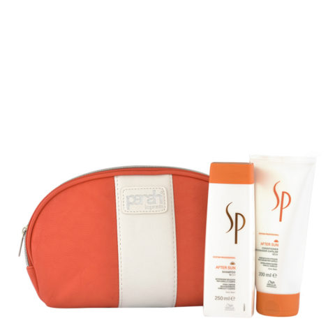 Wella SP After sun Shampoo 250ml Conditioner 200ml omaggio Pochette