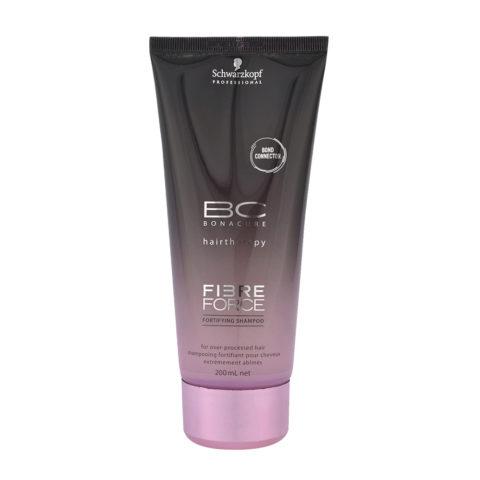Schwarzkopf BC Bonacure Fibre Force Shampoo 200ml - shampoo riparatore