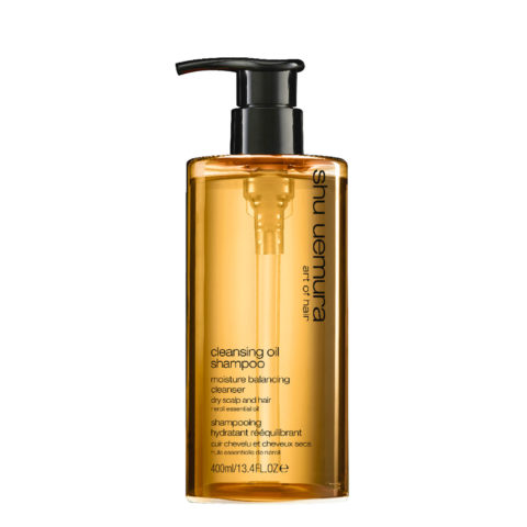 Shu Uemura Cleansing Oil Shampoo for dry scalp 400ml Shampoo Idratante Per Cute Secca