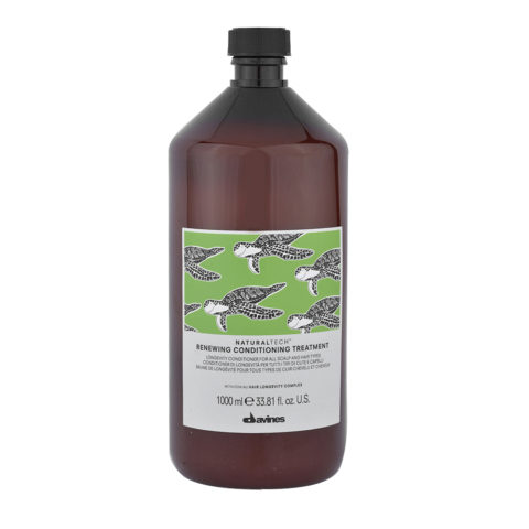 Davines Naturaltech Renewing Conditioning Treatment 1000ml - balsamo di longevità