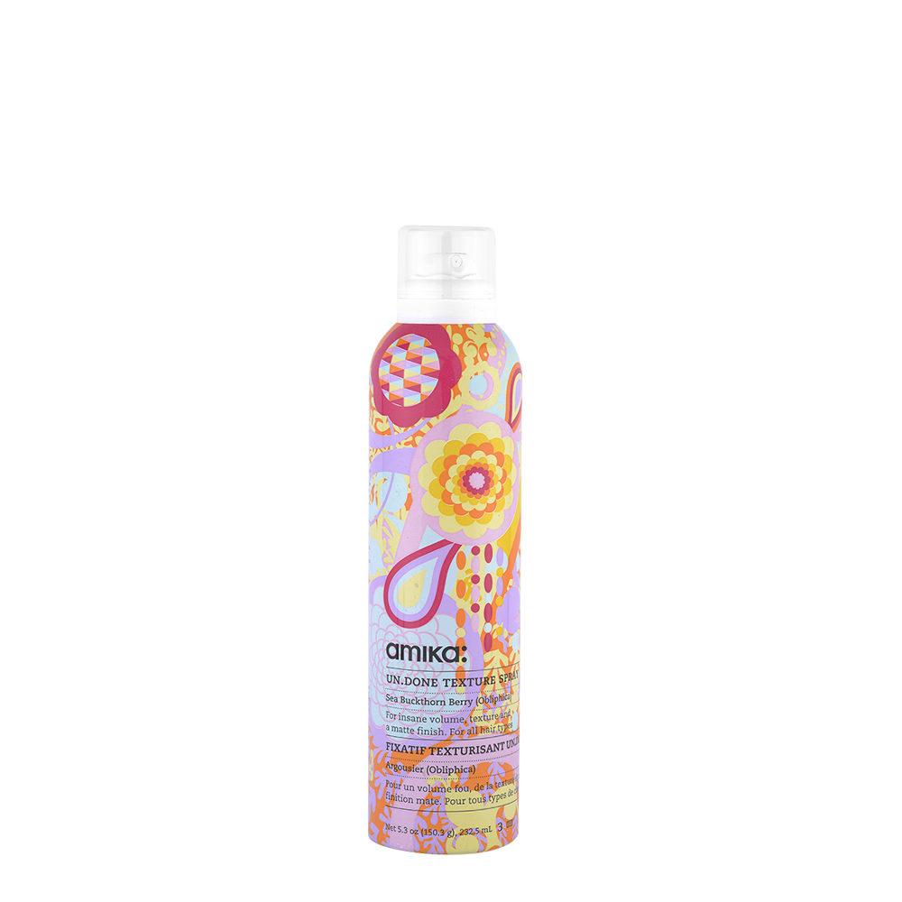 amika: Styling Un Done Texture Spray 232,5ml - spray volumizzante effetto spiaggia