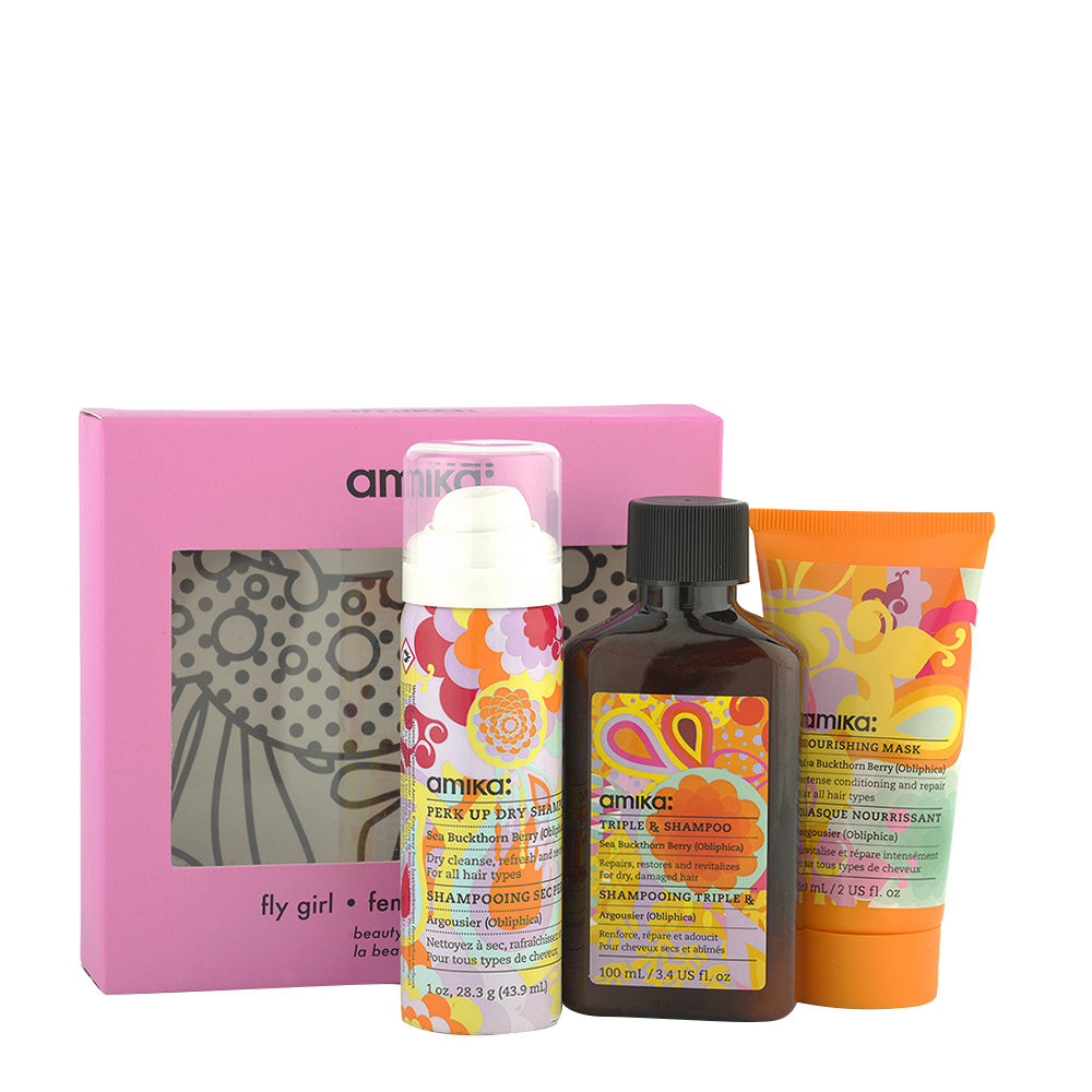 amika: Fly Girl kit - kit da viaggio