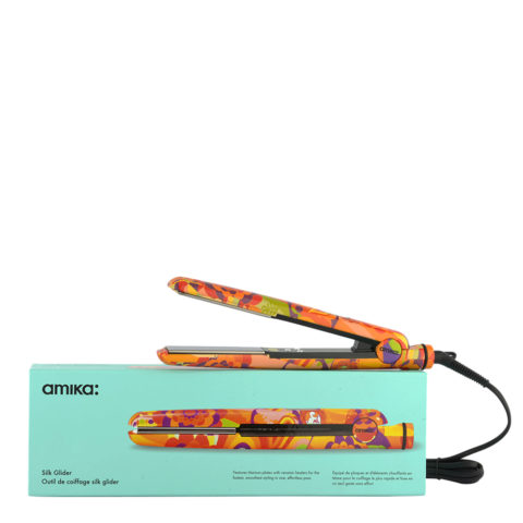 amika: Piastra Digital Titanium Styler Obliphica Silk Glider - piastra professionale