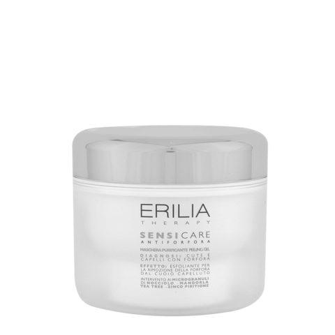 Erilia Sensicare Maschera Purificante Peeling Gel 200ml - antiforfora