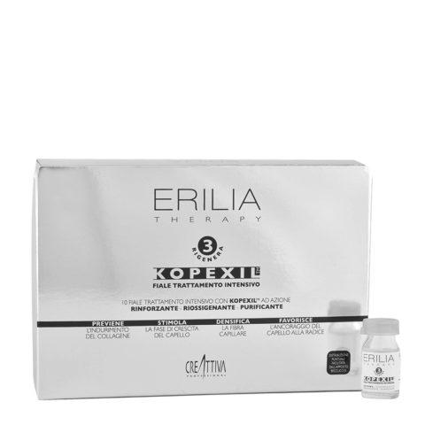 Erilia Kopexil Fiale Trattamento Intensivo Mantenimento 10x8ml - fortificante per capelli deboli
