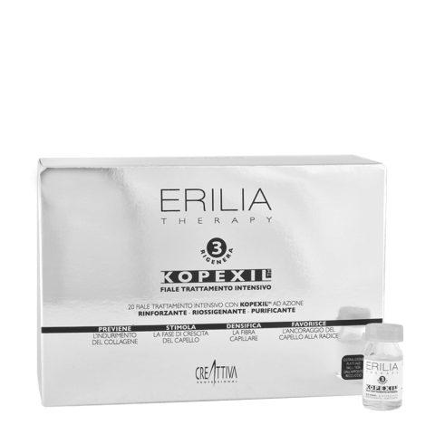 Erilia Kopexil Fiale Trattamento Intensivo Azione Urto 20x8ml - fortificante per capelli deboli