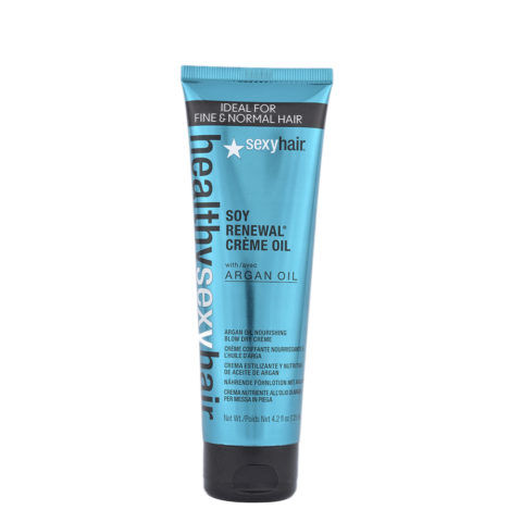 Healthy Sexy Hair Soy Renewal Creme Oil Nourishing Blow Dry Creme 125ml - olio in crema idratante