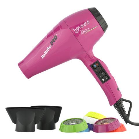 Babyliss Pro Asciugacapelli BAB6350IFE Luminoso Rosa