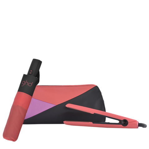 GHD Pink Blush V Classic Styler Limited Ed. - piastra  Ombrello GHD omaggio