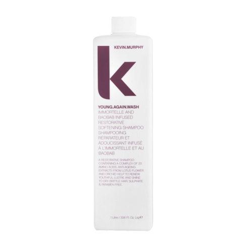 Kevin murphy Shampoo Young again wash 1000ml - Shampoo ristrutturante