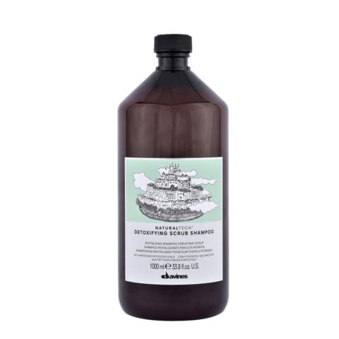 Davines Naturaltech Detoxifying Scrub Shampoo 1000ml - Shampoo rivitalizzante