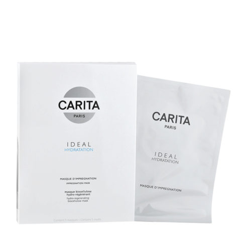 Carita Skincare Ideal hydratation Masque d'Impregnation x5 maschere idratanti