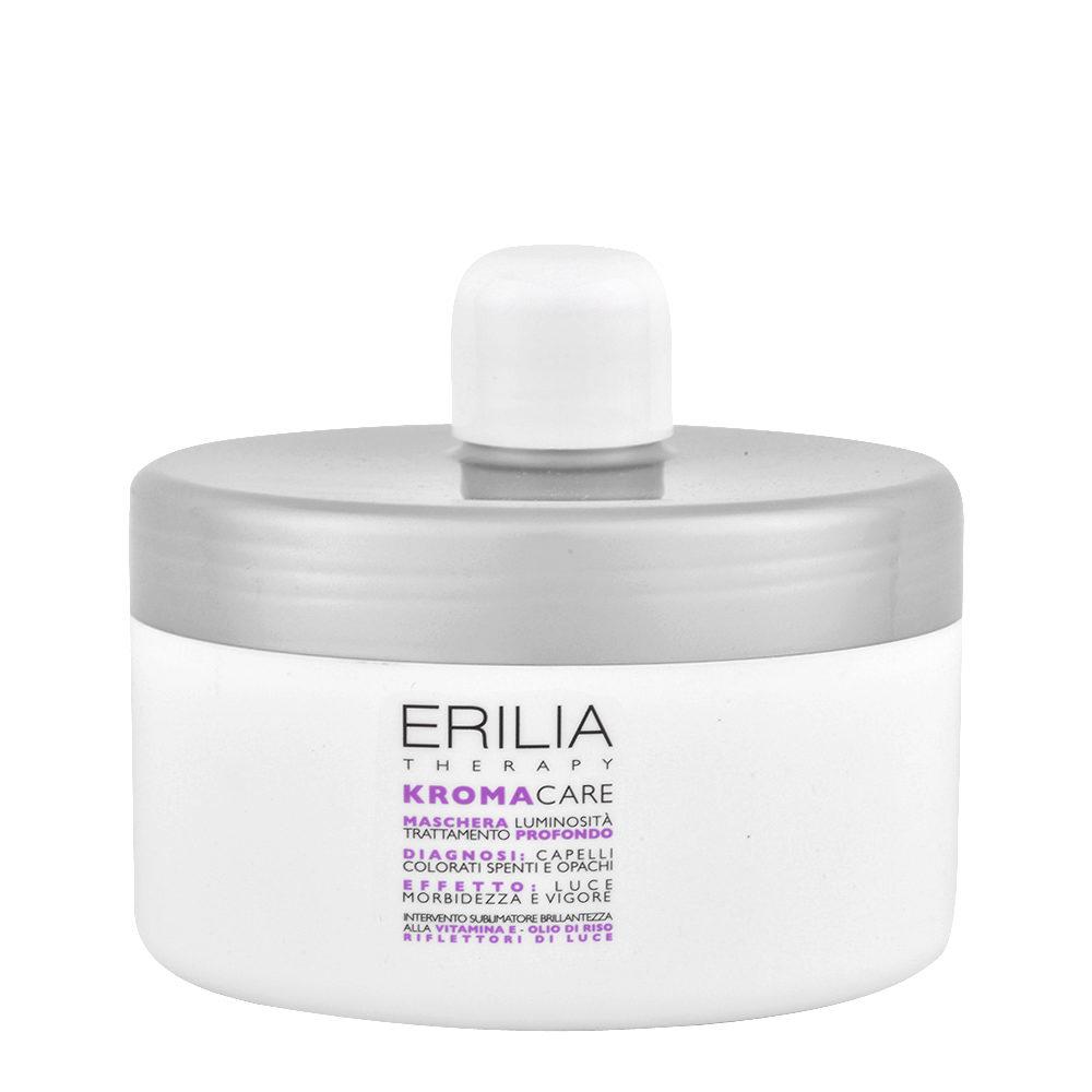 Erilia Kroma Care Maschera Luminosità Trattamento Profondo 500ml - capelli colorati