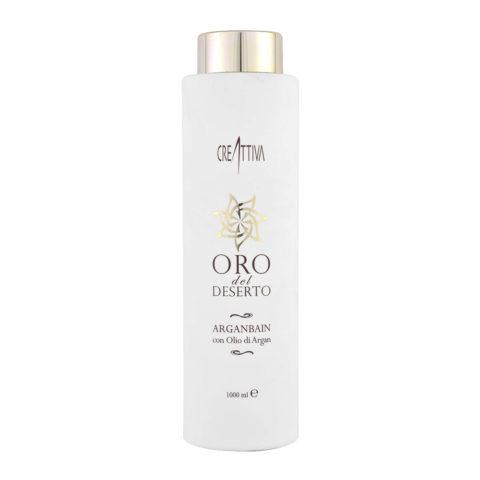 Erilia Oro del Deserto Argan Bain 1000ml - shampoo all'olio di Argan