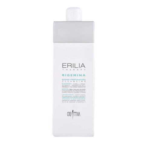 Erilia Therapy Rigemina Bagno Preparatore 750ml - shampoo