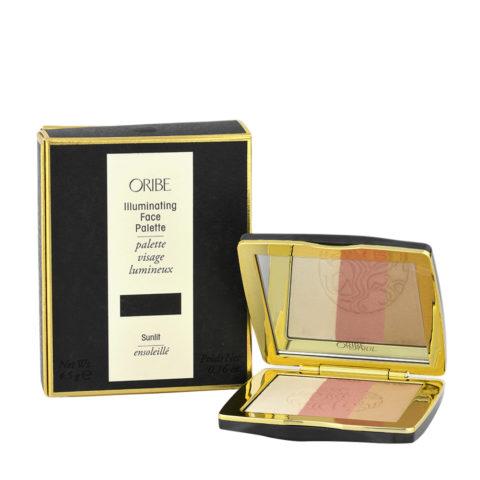 Oribe Illuminating Face Palette Sunlit 4,5gr - trousse fard viso