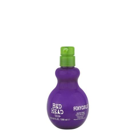 Tigi Bed Head Foxy Curls Contour Cream 200ml - crema di definizione