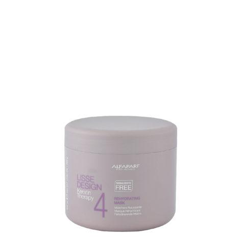 Alfaparf Lisse Design Keratin Therapy 4 Rehydrating Mask 500ml - Maschera Reidratante