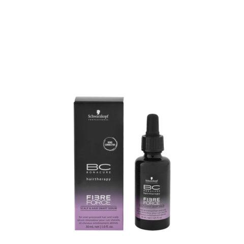 Schwarzkopf BC Bonacure Fibre Force Scalp & Hair Smart Serum 30ml - siero cute e capelli