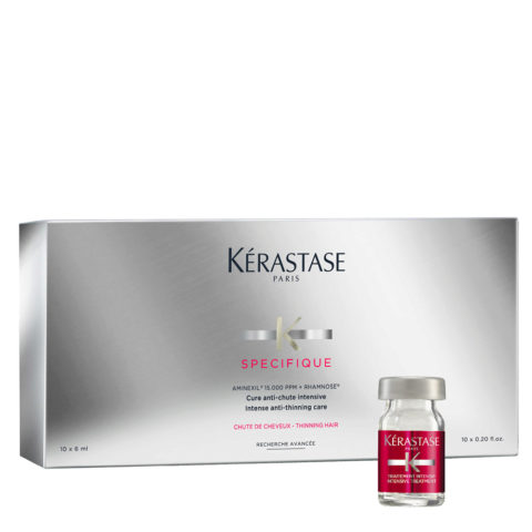 Kerastase Specifique Cure anti chute intensive 10x6ml - fiale anticaduta energizzanti