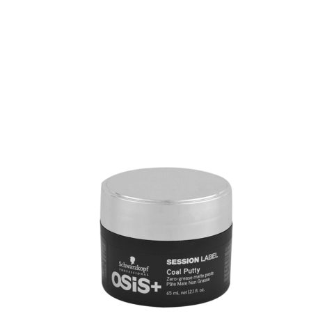 Schwarzkopf Osis Session Label Coal Putty 65ml - cera opaca