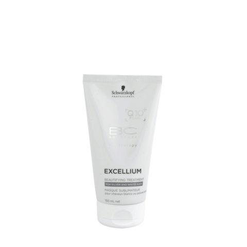 Schwarzkopf BC Excellium Beautifying Silver Treatment 150ml - trattamento anti-age per capelli grigi o bianchi