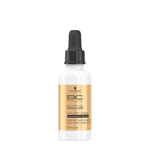 Schwarzkopf BC Excellium Anti-dry Serum 30ml - siero disciplinante e idratante