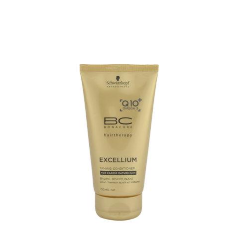 Schwarzkopf BC Excellium Taming Conditioner 150ml - disciplinante per capelli maturi e grossi