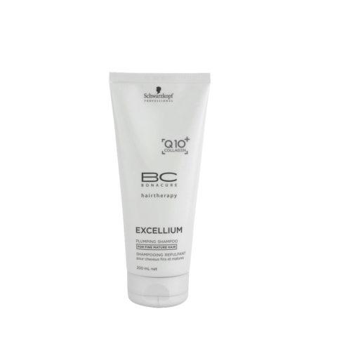 Schwarzkopf BC Excellium Plumping Shampoo 200ml - per capelli fini e maturi