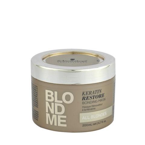 Schwarzkopf Blond Me Keratin Restore Bonding Mask 200ml - maschera di ricostruzione