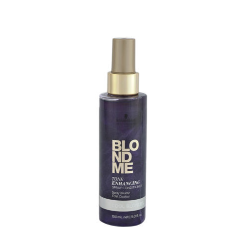 Schwarzkopf Blond Me Tone Enhance Spray Conditioner 150ml - balsamo spray antigiallo