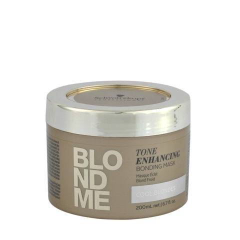 Schwarzkopf Blond Me Tone Enhancing Bonding Mask 200ml - maschera neutralizzante toni gialli