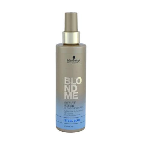 Schwarzkopf Blond Me Instant Blush Steel blue 250ml - blush istantaneo acciaio