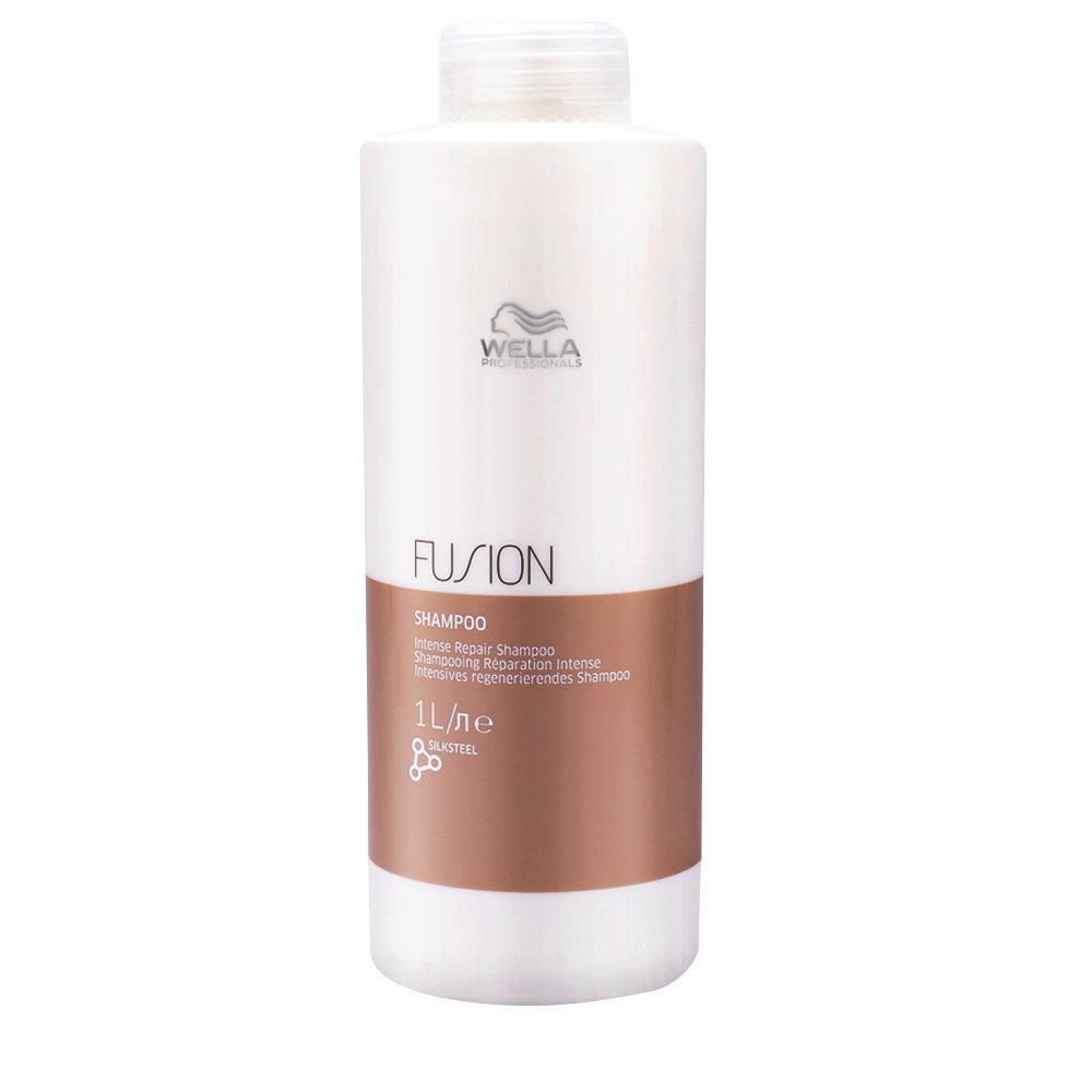 Wella Fusion Shampoo 1000ml - shampoo di riparazione