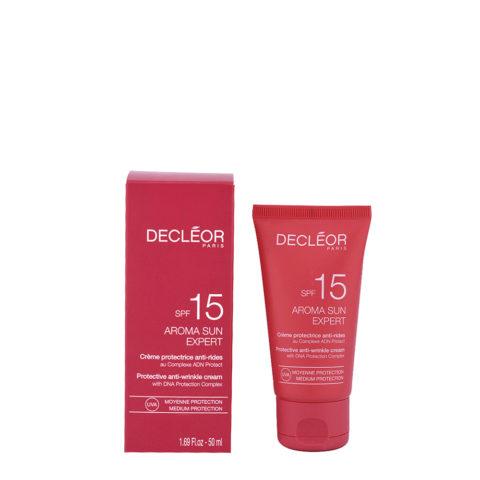 Decléor Aroma Sun Crème Protectrice Anti-rides SPF15, 50ml - crema protettrice anti rughe