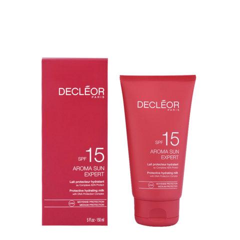 Decléor Aroma Sun Lait Protecteur Hydratant SPF15, 150ml - latte protettivo idratante corpo
