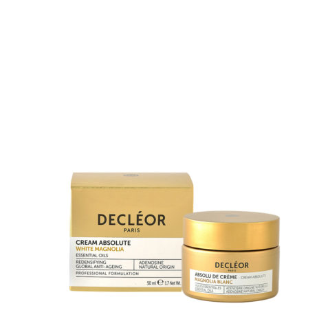 Decléor Cream Absolute White Magnolia 50ml - crema giorno viso