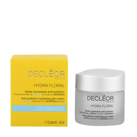 Decléor Hydra Floral Neroli Gelée Hydratante Anti-pollution 50ml - gel anti-inquinamento
