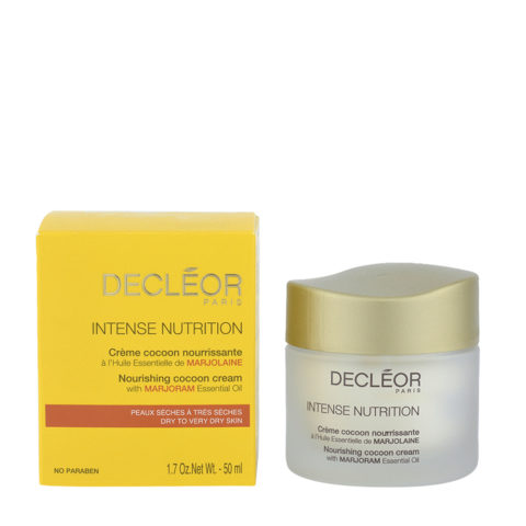 Decléor Intense Nutrition Marjolaine Crème Cocoon Nourissante 50ml - crema nutriente