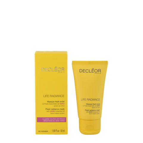 Decléor Life Radiance Masque Flash éclat 50ml - maschera luminosità