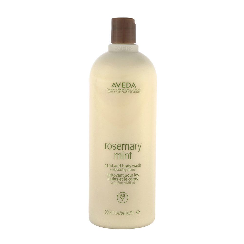 Aveda Bodycare Rosemary mint hand & body wash 1000ml - bagnoschiuma biologico