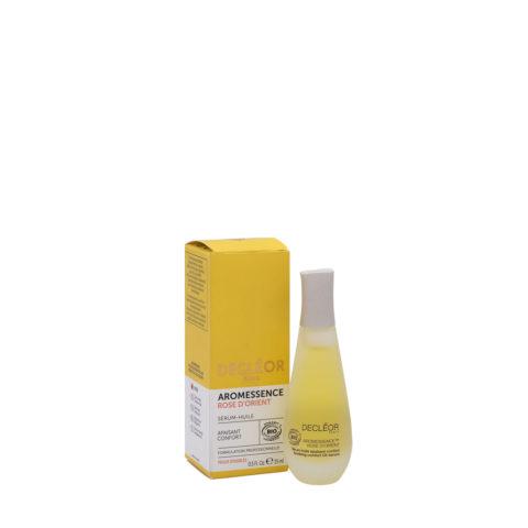 Decléor Aromessence Rose d'Orient Sérum-huile apaisant 15ml - siero-olio lenitivo
