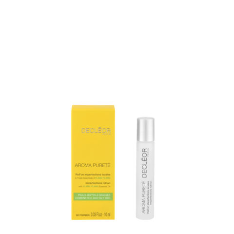 Decléor Aroma Pureté Ylang-Ylang Roll'on Imperfections Locales 10ml - anti-imperfezioni