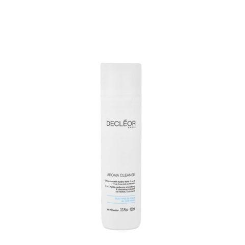 Decléor Aroma Cleanse Crème mousse Hydra-éclat 3en1, 100ml - crema in mousse struccante