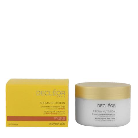 Decléor Aroma Nutrition Crème riche nourissante corps 200ml - crema ricca nutriente corpo