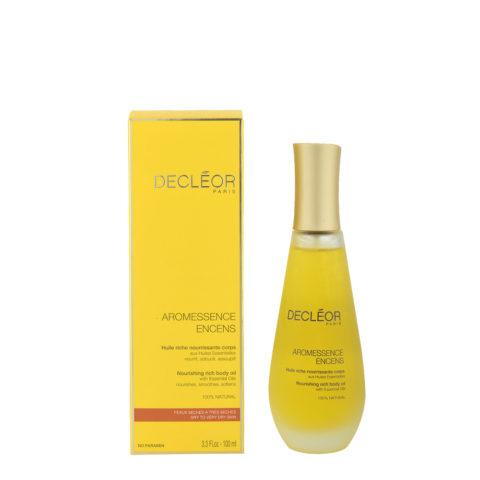 Decléor Aromessence Encens Huile riche nourissante corps 100ml - olio ricco nutriente corpo