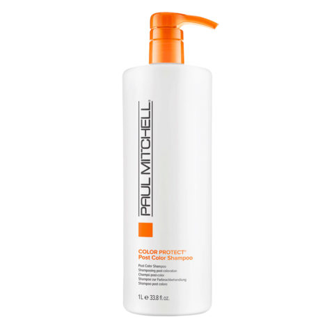 Paul Mitchell Color Protect Post Color Shampoo 1000ml - Shampoo Post Servizio Colore