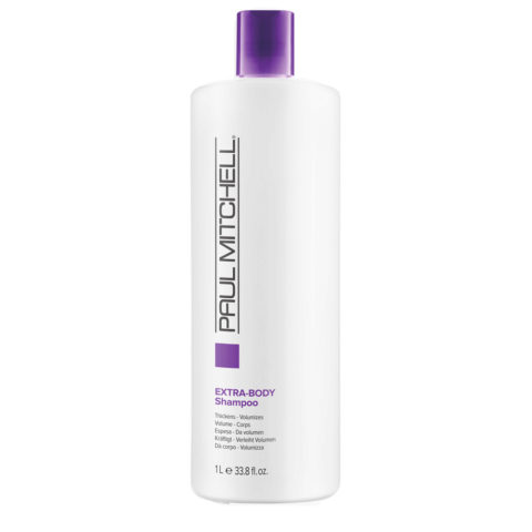 Paul Mitchell Extra body shampoo 1000ml - shampoo volumizzante per capelli fini