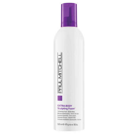 Paul Mitchell Extra body Sculpting foam 500ml - schiuma volumizzante per capelli fini